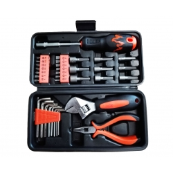 Tool & Bit Set 34 Piece