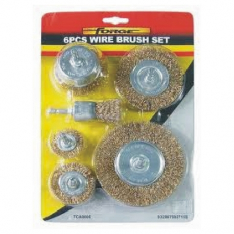 Wire Brush Cup Set 5Pce