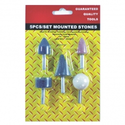 Disc Mounted Stone Set 5Pce