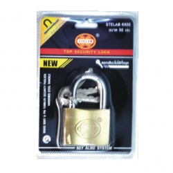 Lock Padlock 50mm BRS Blister
