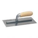 Trowel Square Notched 10 x 10 Wooden Handle