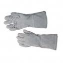 Glove Leather Chrome