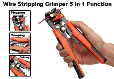 Wire Stripping Crimper